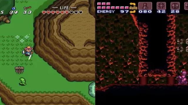 Zelda: A Link to the Past en Super Metroid