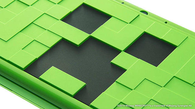 Minecraft Nintendo 2DS XL