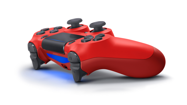 Rood Playstation 4 Dualshock 4 controller