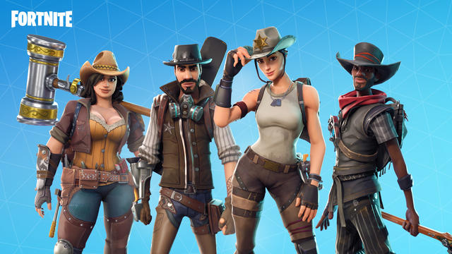 Fortnite wild west Save The World