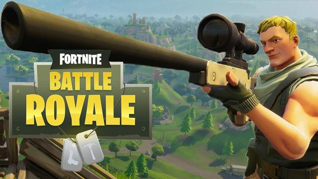 Fortnite battle royale sniper