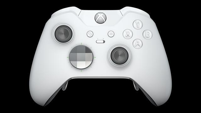 Xbox One Elite Controller Robot White