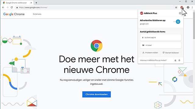 Google Chrome is momenteel de meest populaire browser