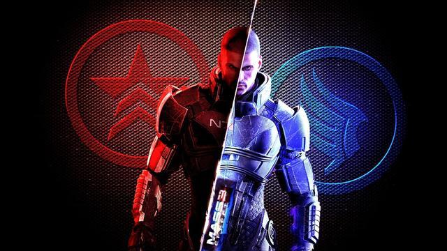 Mass Effect Renegade Paragon