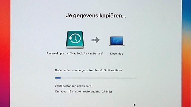 Herstel je Mac